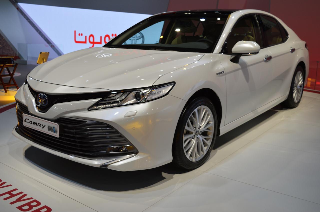 Toyota Camry 2018 thế hệ thứ 8 sắp ra mắt tại thị trường Đông Nam Á