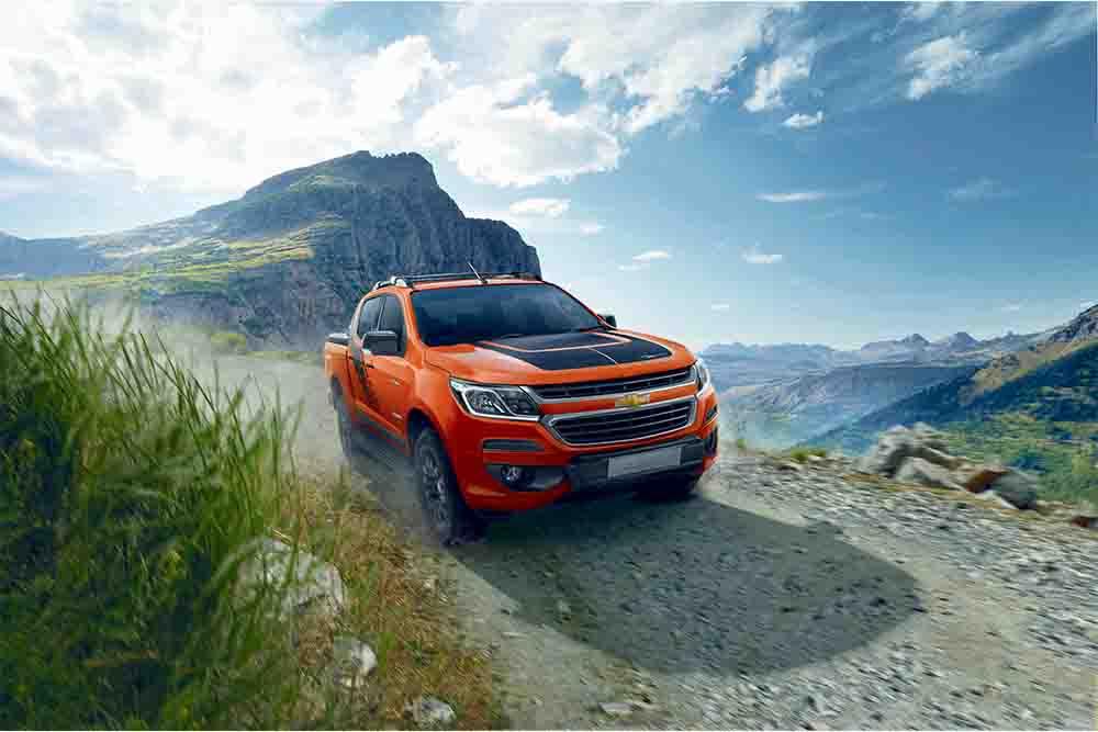 Chevrolet ra mắt mẫu bán tải Colorado Storm, giá bán từ 918 triệu đồng