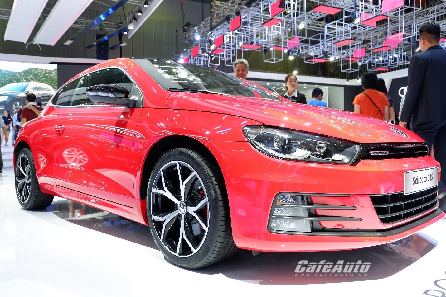 Cận cảnh mẫu xe thể thao 'giá mềm' - Volkswagen Scirocco tại triển làm VMS 2018