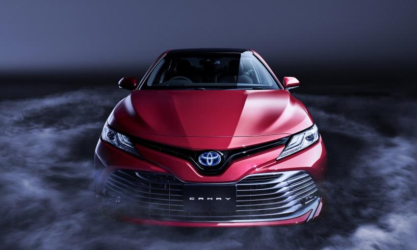 Toyota Camry 2019 sắp ra mắt thị trường Đông Nam Á