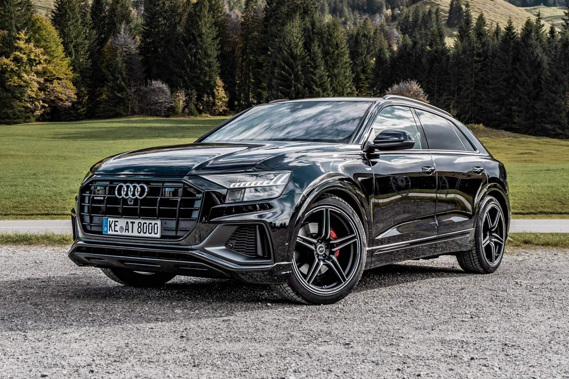 Khám phá bản độ đầu tiên dành cho SUV cao cấp Audi Q8