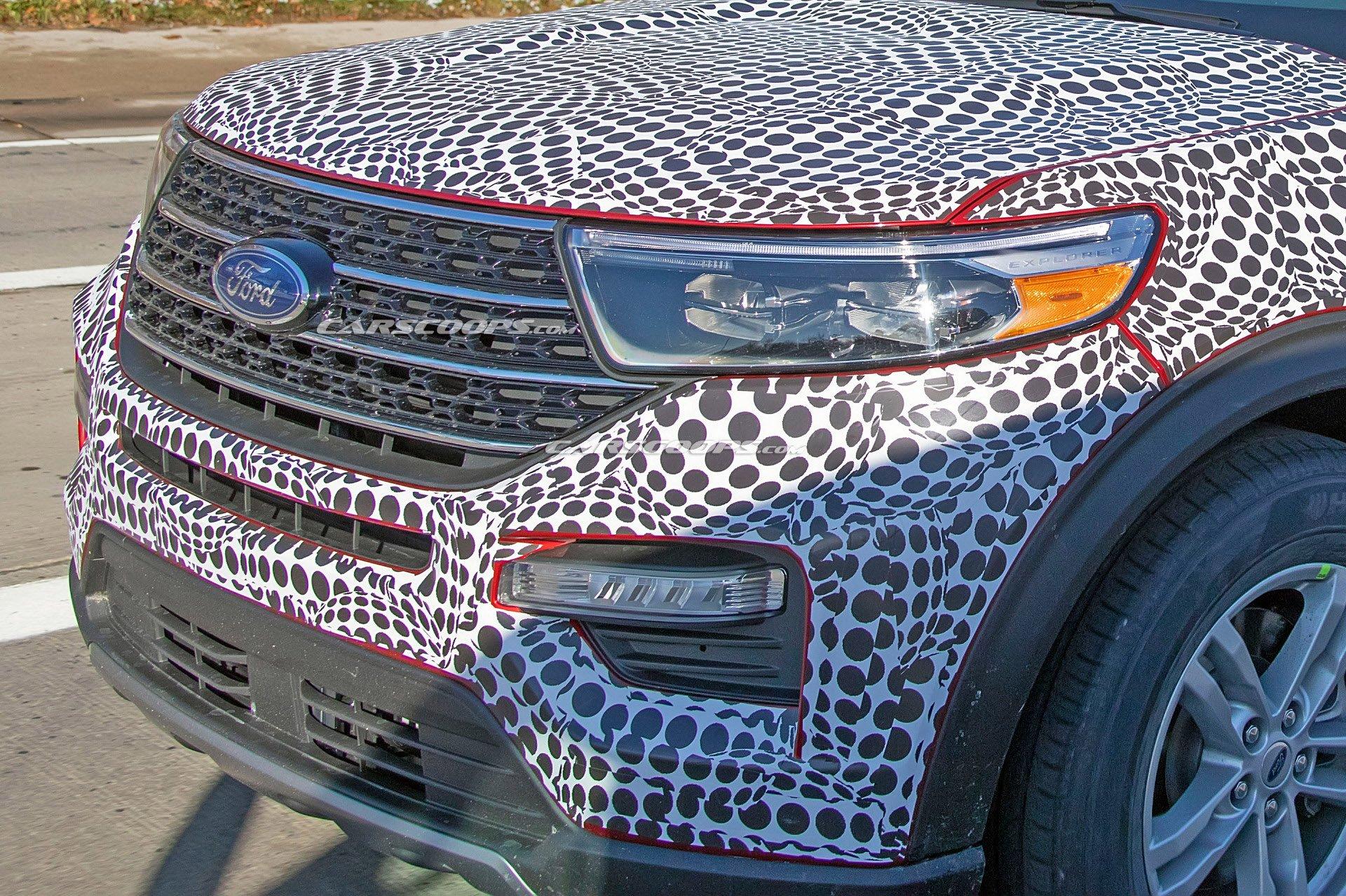nhân tố bí ẩn , Ford,  triển lãm Detroit 2019, Ford Explorer thế hệ mới, Toyota Highlander, Mazda CX-9