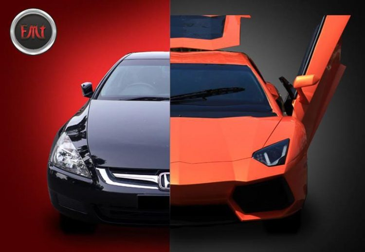 day-bat-ngo-voi-honda-accord-doi-2005-nhai-lamborghini-aventador-y-het