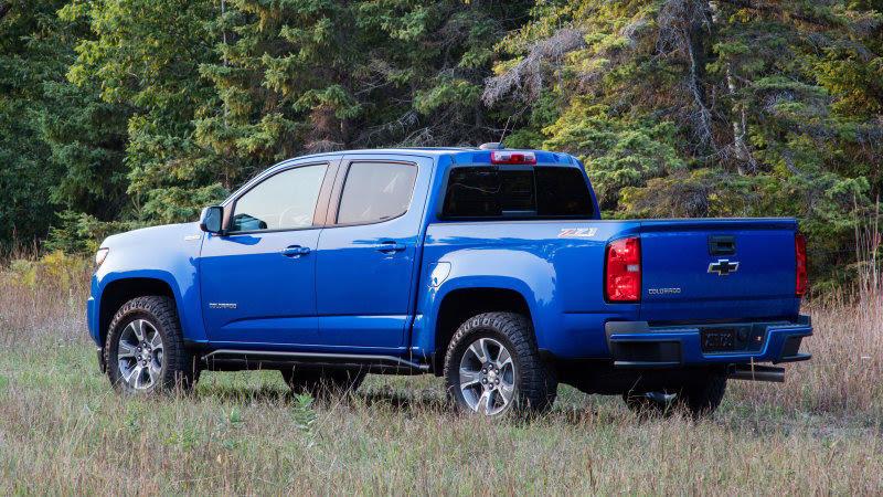 Chevrolet Colorado 2020 thay đổi ra sao?