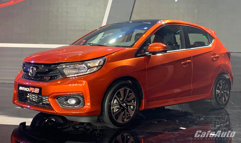 Honda Brio giá từ 418 triệu đồng ra mắt, đối đầu VinFast Fadil