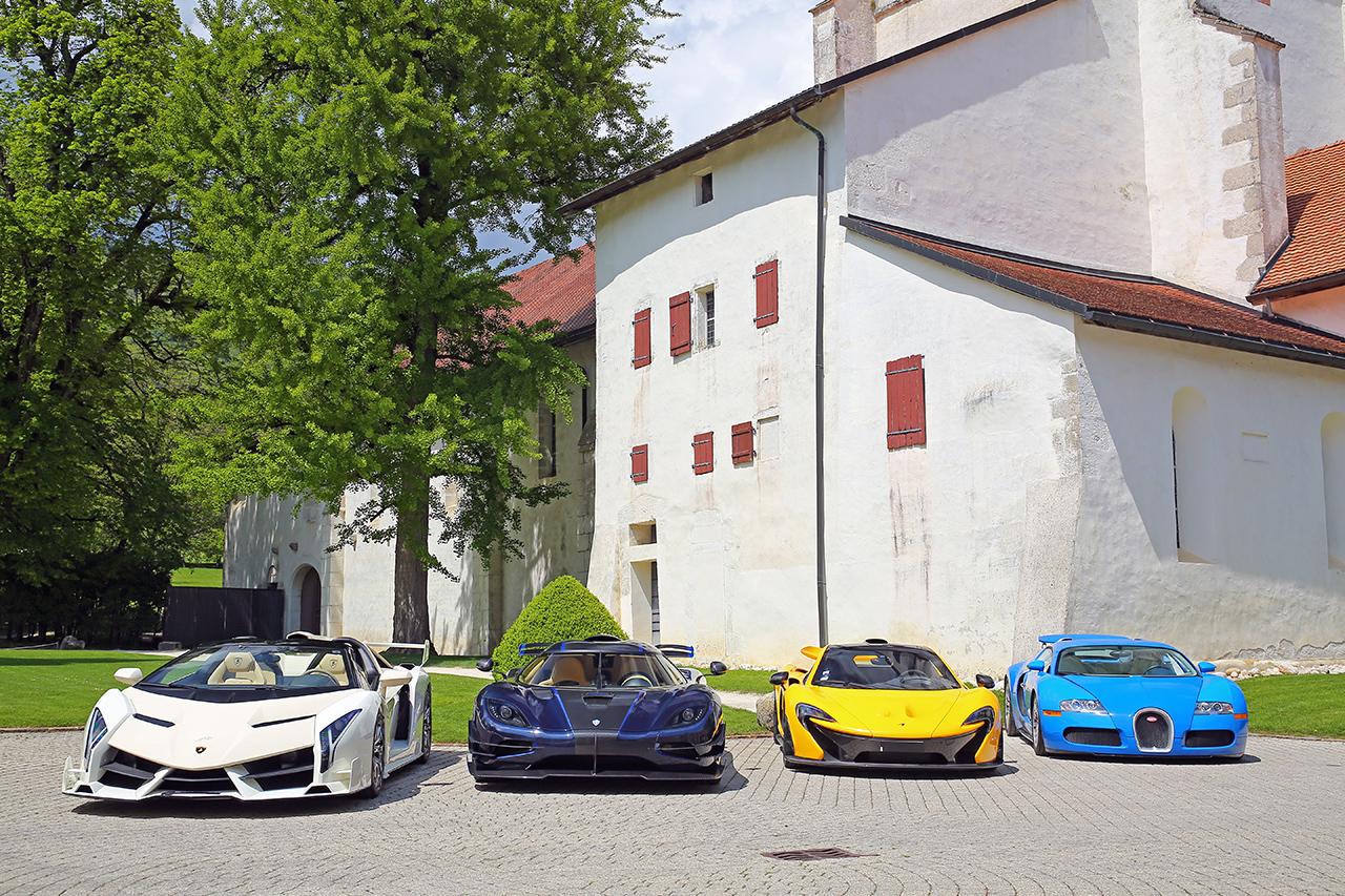 """Chính phủ Thụy Sĩ bán đấu giá bộ sưu tập siêu xe """"khủng"""" trị giá 13 triệu USD"""