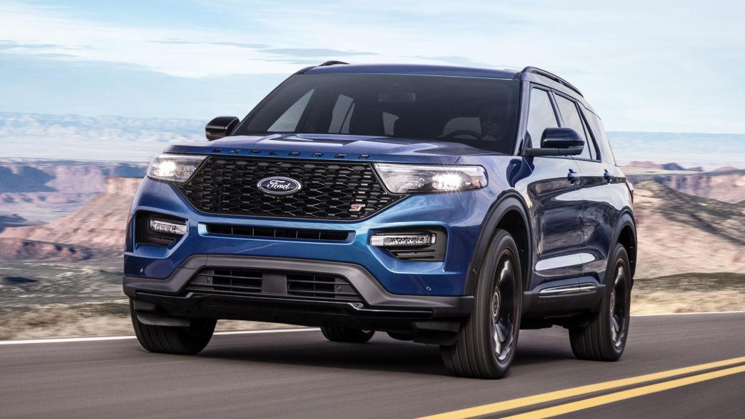 Ford Explorer ST 2020 sẽ thay thế động cơ V8 bằng EcoBoost V6