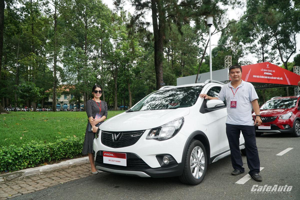 Vinfast Fadil chính thức đến tay người tiêu dùng Việt