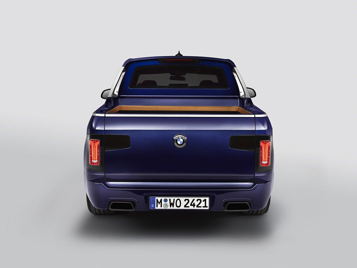 """BMW """"chơi trội"""" khi ra bản mẫu X7 phiên bản bán tải"""