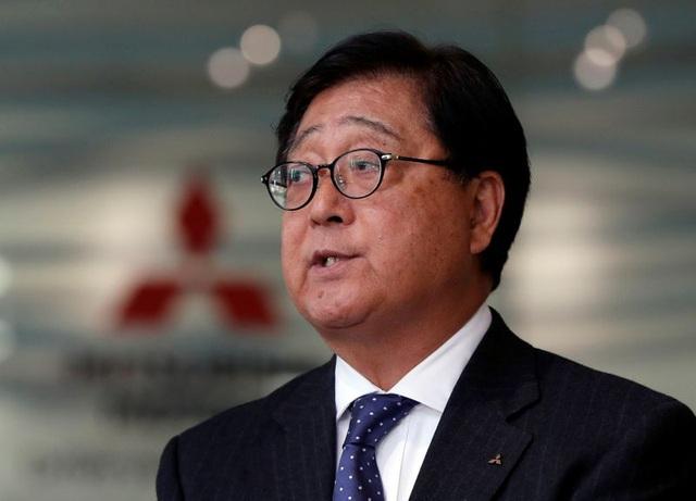 Chủ tịch Mitsubishi từ chức vì lý do sức khỏe