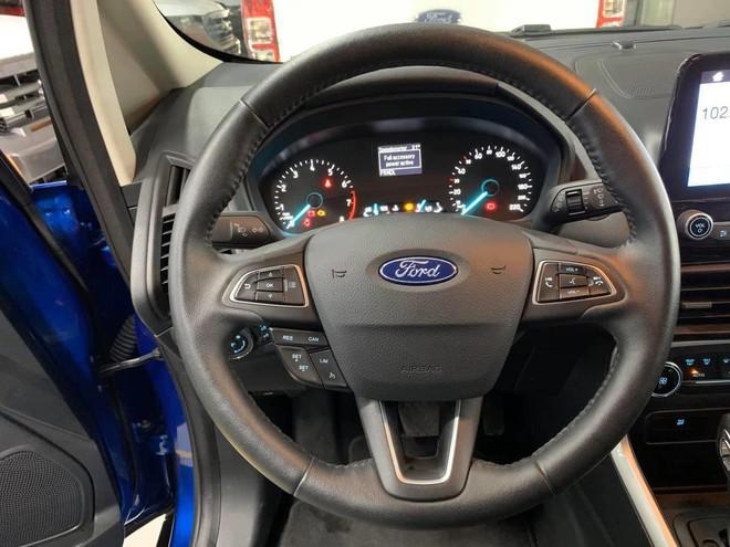 Ford EcoSport 2020 lộ thông số tại Việt Nam: bỏ lốp dự phòng, bổ sung nhiều công nghệ hiện đại