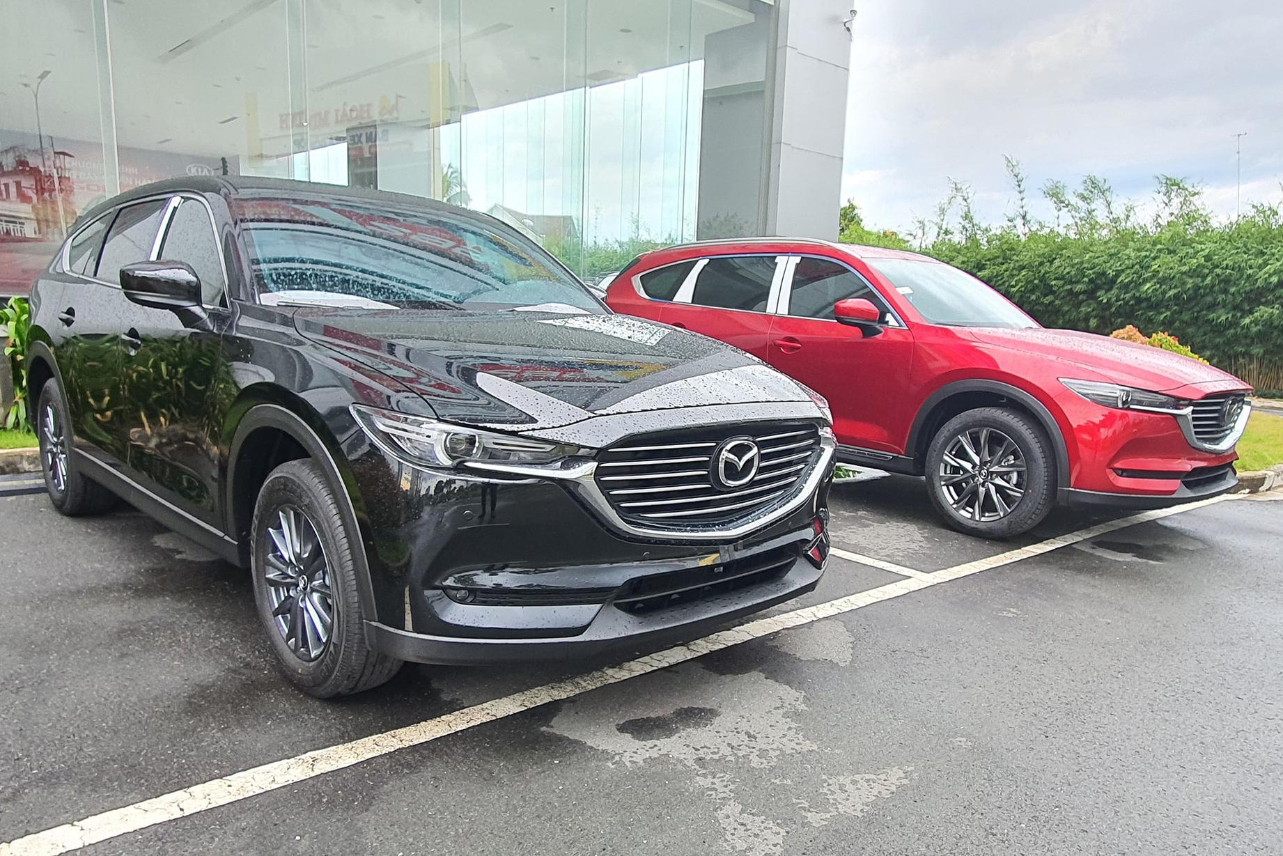 Vừa giảm giá sốc, Mazda CX-8 tiếp tục bổ sung trang bị quyết đấu Toyota Fortuner