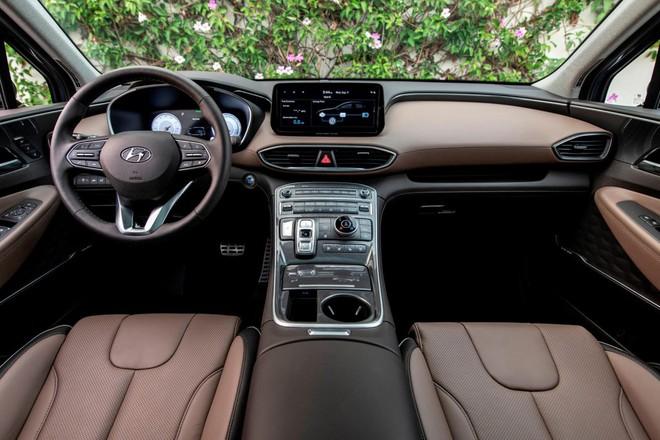 Lộ diện Hyundai SantaFe 2021 dành cho thị trường Mỹ