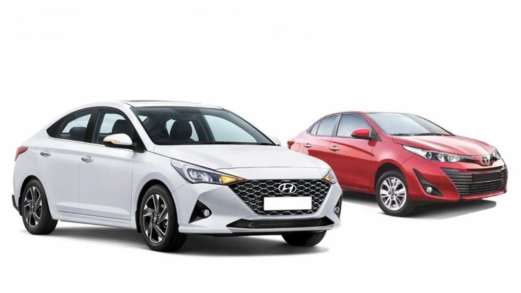 So sánh Toyota Vios và Hyundai Accent 2021: