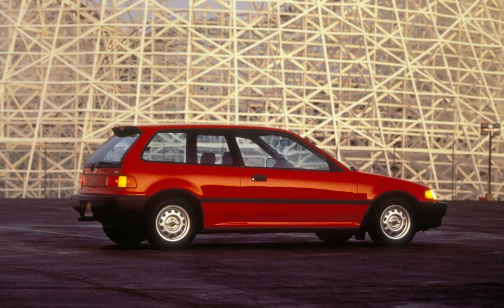 Honda Civic thế hệ thứ 4