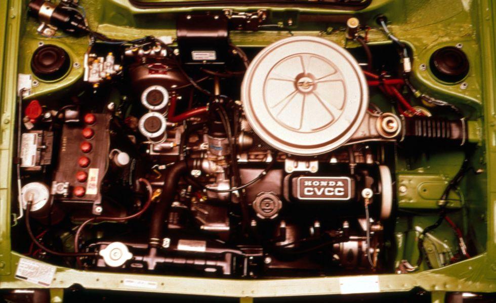 động cơ Honda Civic thế hệ 1